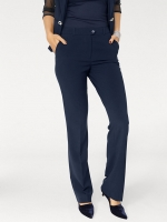 Pantaloni de damă eleganți Ashley Brooke 7996