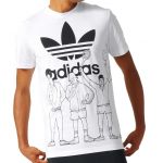 Tricou bărbați Adidas Originals Blockparty