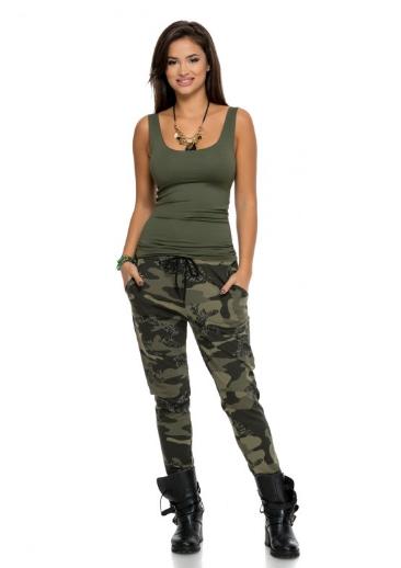 vânzare online întâlni prețuri mai mici noi Pantaloni damă Unity Army | Coton.ro