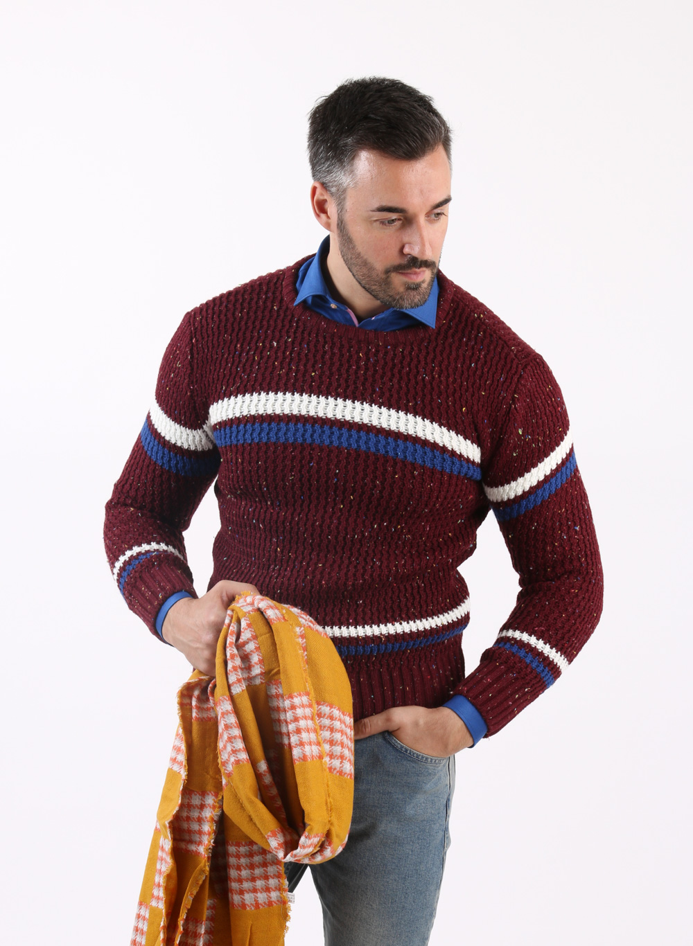 pulovere-tricotate-elegante-pentru-barbati-ieftine