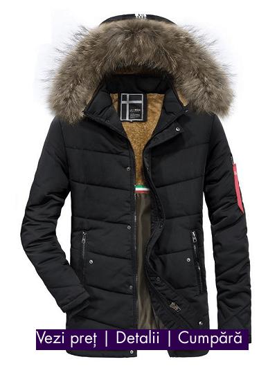 Modă 100% de înaltă calitate diverse culori Geci de iarnă bărbați, Colecția 2019/2020   Coton.ro