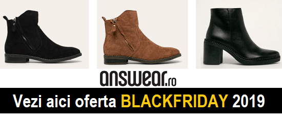 ultima moda vânzare Marea Britanie angro Reduceri BLACK FRIDAY 2019 ghete, bocanci și cizme damă cu până la ...