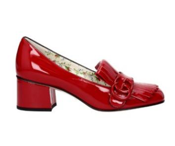 cel mai bun magazin din Marea Britanie 100% calitate superioară Pantofi de damă de ocazie roșii Gucci   Coton.ro