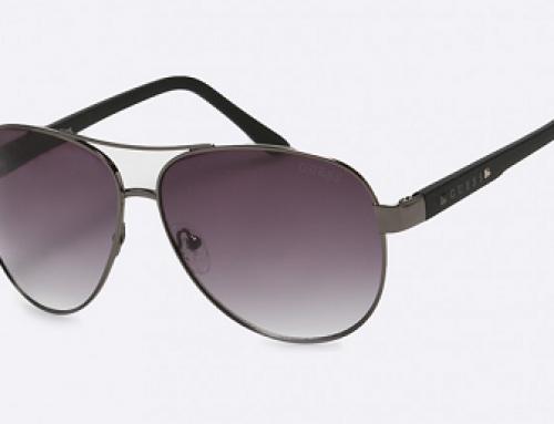 Ochelari de soare pentru bărbați tip Aviator Guess Jeans