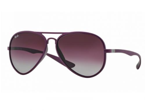 Ochelari de soare bărbați polarizați Ray-Ban Violet Dark