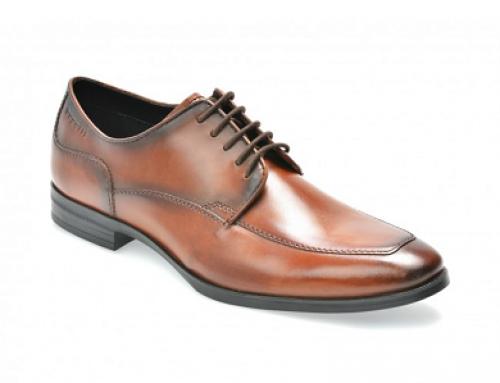 Pamtofi eleganți din piele naturală bărbați Bugatti BK446