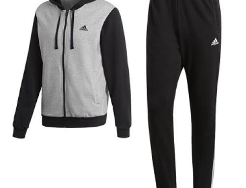 Trening din bumbac și cu glugă bărbați Adidas Co Energize