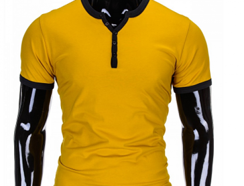 Tricou slim fit pentru bărbați, mulat pe corp, Jasper HSLT