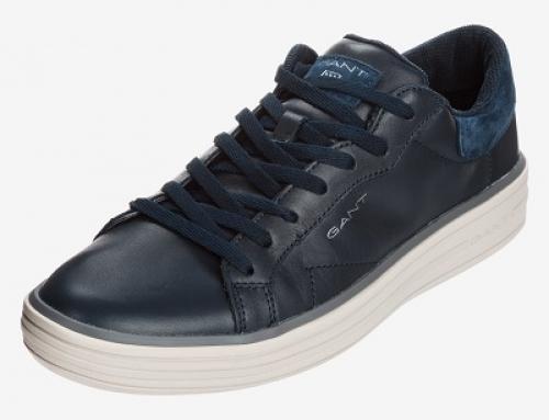 Pantofi sport cu talpă plată și din piele naturală bărbați Gant Tyler