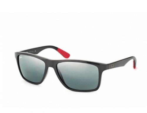 Ochelari de soare cu lentile argintii bărbați Ray-Ban RB 4234 6185/88