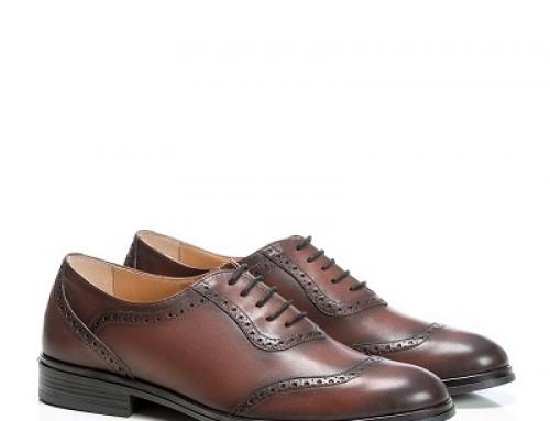 Pantofi eleganți maro, piele naturală pentru bărbați Alden