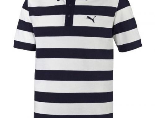 Tricou polo cu dungi pentru bărbați Puma Ess Striped Pique 8382