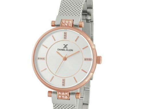 Ceas de damă argintiu Daniel Klein Premium DK11624-1