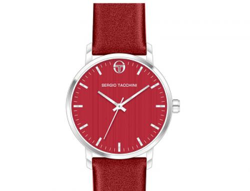 Ceas de damă roșu Sergio Tacchini City ST.2.107.04