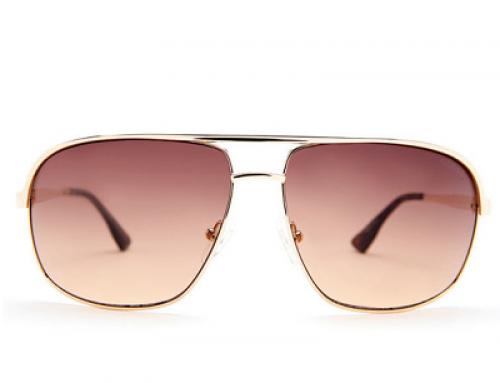 Ochelari de soare cu lentile maro pentru bărbați Guess GF5000 32F