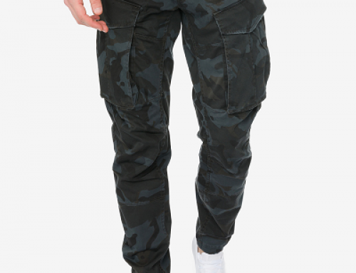 Pantaloni Cargo cu imprimeu camuflaj pentru bărbați G-Star RAW