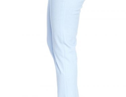 Pantaloni de damă office bleumarin, din bumbac, Coloradi Ama