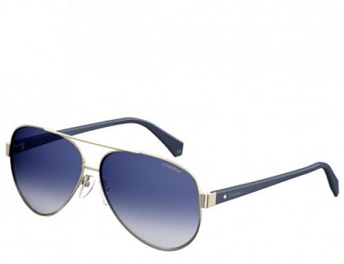 Ochelari de soare cu lentile albastre, Aviator bărbați Polaroid 4061/S 3Yg