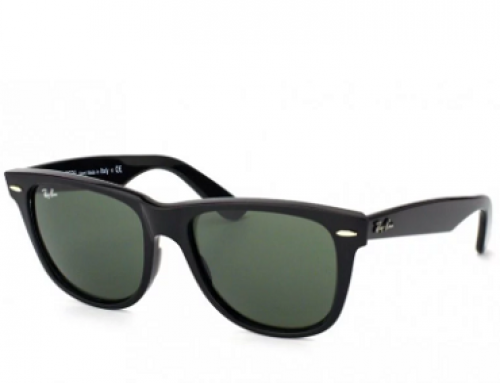 Ochelari de soare unisex polarizați, lentile verzi, Ray-Ban RB2140 901