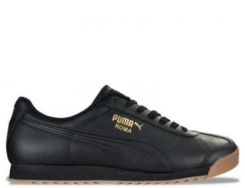 Pantofi sport din piele naturală pentru bărbați Puma Roma 366408 02