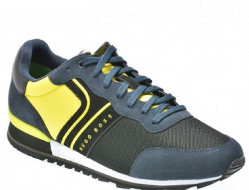 Pantofi sport cu piele și material textil pentru bărbați Hugo Boss BK713
