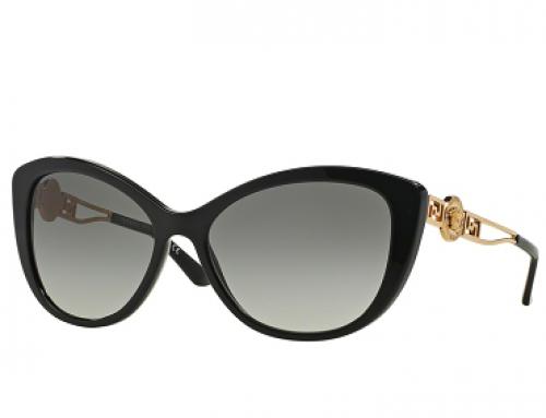Ochelari soare de damă polarizați, lentile gri, Versace VE4295 GB1/11