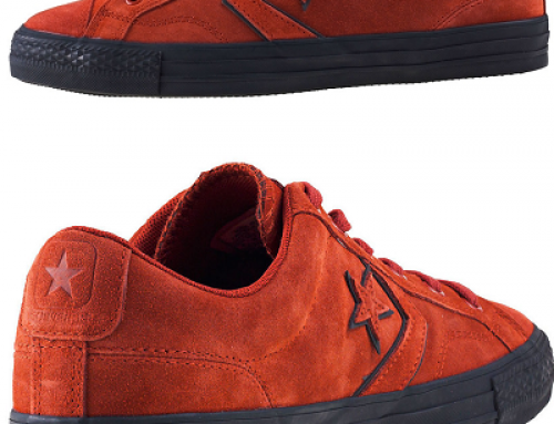 Pantofi sport maro din piele întoarsă pentru bărbați Converse Star Player