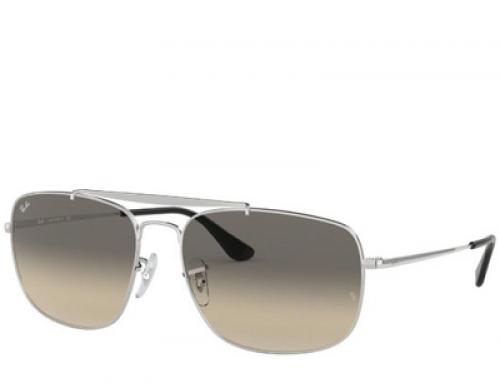 Ochelari de soare, lentile gri, bărbaţi Ray-Ban The Colonel RB3560 003/32 61