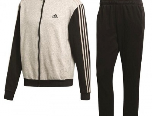 Trening din bumbac pentru bărbați Adidas Performance Co Relax Ts CW3919