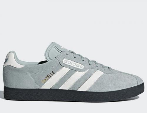 Pantofi sport din piele întoarsă, bărbaţi, Adidas Gazelle Super CQ2796