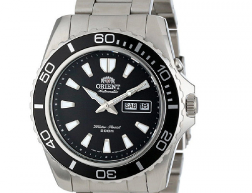 Ceas original pentru bărbați Orient Mako XL FEM75001B6, 20 ATM