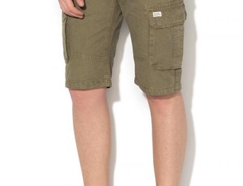 Pantaloni scurți stil cargo, din bumbac, pentru bărbați Blend K-Z5D