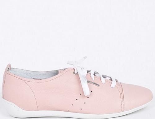 Pantofi damă cu talpă joasă și plată, piele naturală, Gino Rossi DPF691