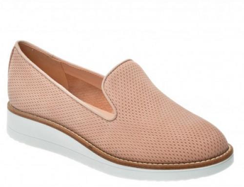 Pantofi damă casual din piele naturală și cu toc plat Aldo Stephona