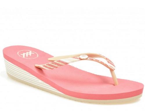 Papuci de damă roz cu talpă ușoară și confortabilă, Gryxxx DK374