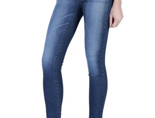 Blugi de damă Skinny albaștri Carrera Jeans Aloe