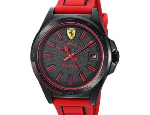 Ceas sport bărbătesc Scuderia Ferrari Pilota SF0830424