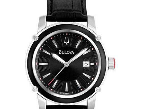 Ceas bărbătesc Bulova DRESS 98B160 Calfskin, 3 ATM, Quartz