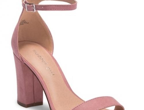 Sandale de damă office cu toc gros și curea reglabilă Madden Girl Bella