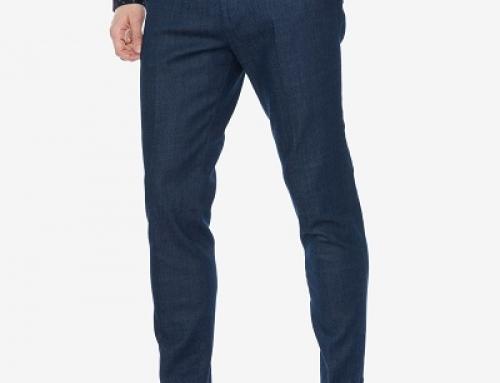 Pantaloni casual slim fit din bumbac pentru bărbați Scotch & Soda Mott