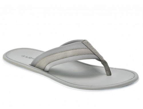 Papuci gri cu talpă subțire pentru bărbați Aldo Onaleniel