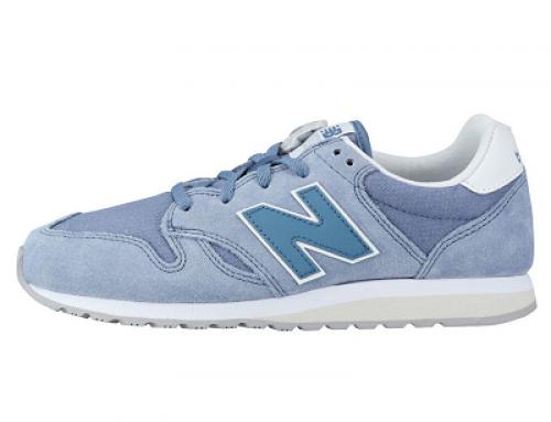 Pantofi sport damă albaștri din piele întoarsă New Balance Wl520 70's