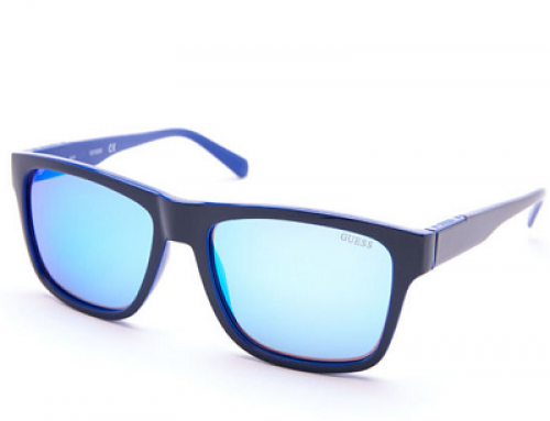 Ochelari de soare polarizați pentru bărbați Guess GU6882 92X