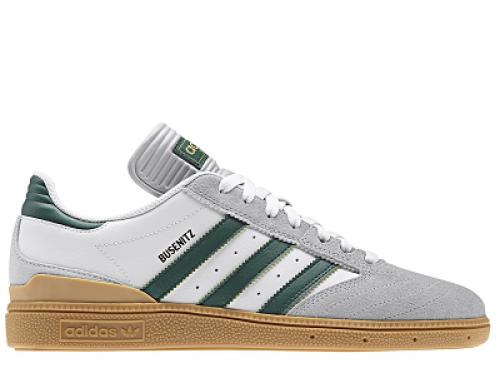 Pantofi sport albi din piele naturală pentru bărbați Dennis Busenitz
