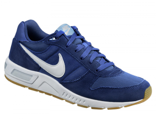 Pantofi sport albaștri cu talpă EVA aderentă pentru bărbați Nike Nightgazer