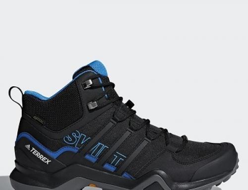 Bocanci de drumeții impermeabili bărbați Adidas Swift Terrex R2 GTX
