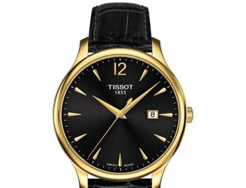Ceas de damă negru Tissot T0636103605700, 3 ATM, Quartz