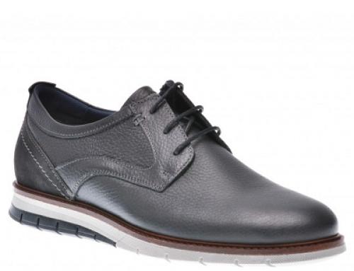 Pantofi casual negri din piele naturală pentru bărbați Salamander Rio
