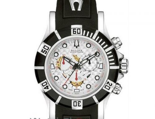 Ceas sport pentru bărbați Bulova Accutron 65A100 Cronograf, 10 ATM