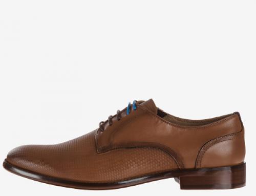 Pantofi eleganți maro din piele naturală pentru bărbați Aldo Exzephir
